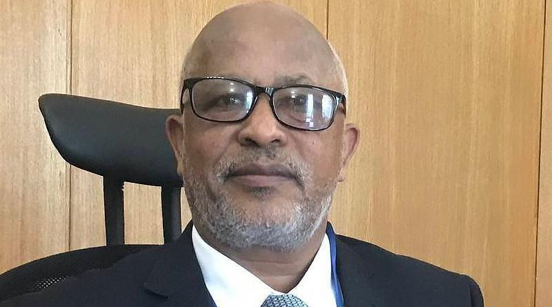 Ethiopian Ambassador Alemayehu Tegenu Aargau