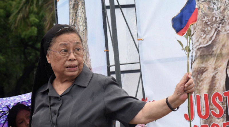 Sister Mary John Mananzan has been accused of being a communist supporter. (Photo: Angie de Silva, UCA News)