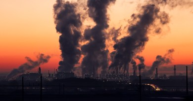 Industry Sunrise Air Pollution
