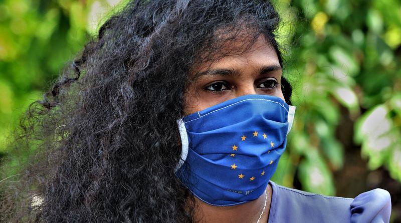 European Union Mask Corona Mask Covid-19 Coronavirus Hygiene Pandemic