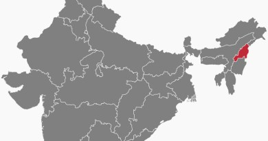 Location of Nagaland in India. Credit: Wikipedia Commons