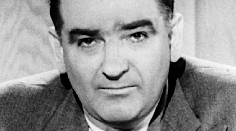 Joseph McCarthy. Photo Credit: United Press - Library of Congress, Wikipedia Commons