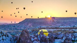 Turkey Fairy Chimneys Natural Landscape Cappadocia