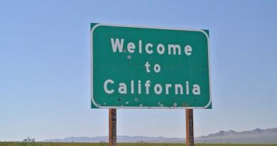 Shield Street Sign California