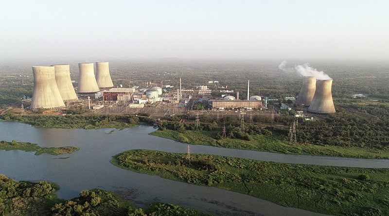 India's Kakrapar Atomic Power Station nuclear plant. Photo Credit: DAE, Wikipedia Commons