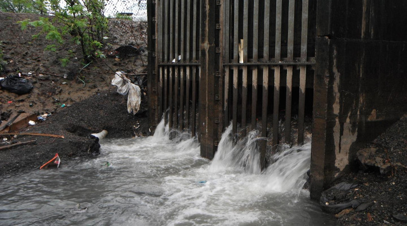 A combined sewer overflow outfall. CREDIT: U.S. Environmental Protection Agency