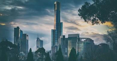 Australia Melbourne City Cityscape Tower Sky Skyscraper