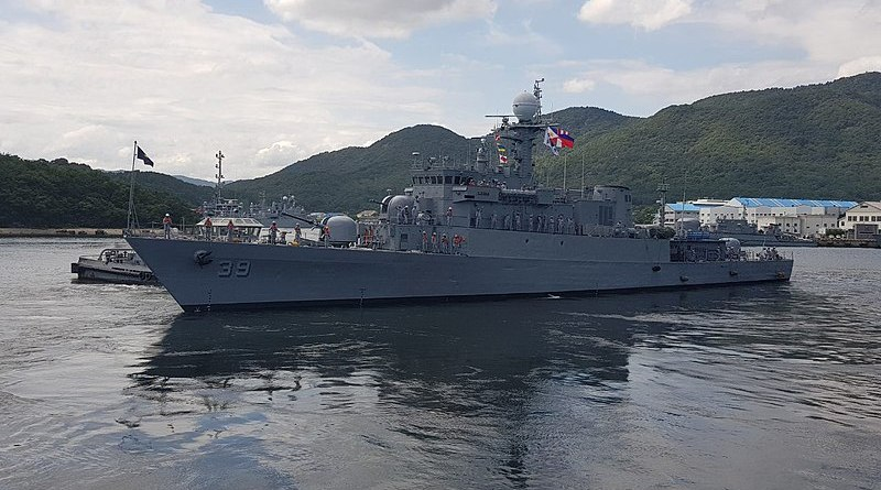 The Philippines' BRP Conrado Yap. Photo Credit: Philippine Navy