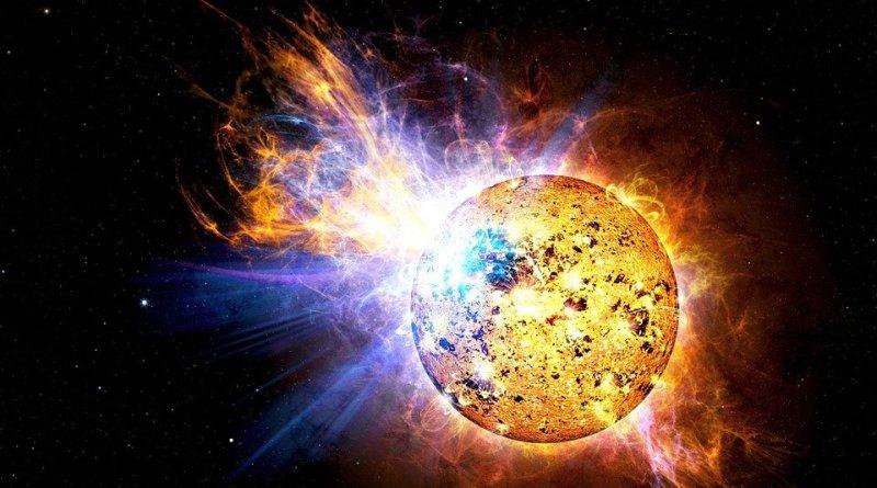 Space Weather Solar Flare Flare Explosion Ev Lacertae Nasa Sun