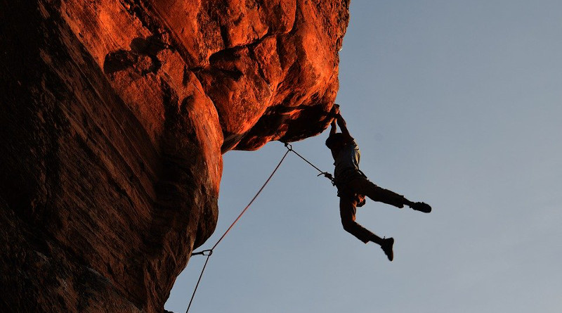 Climbing Rock Climbing Overhang Rope Protection