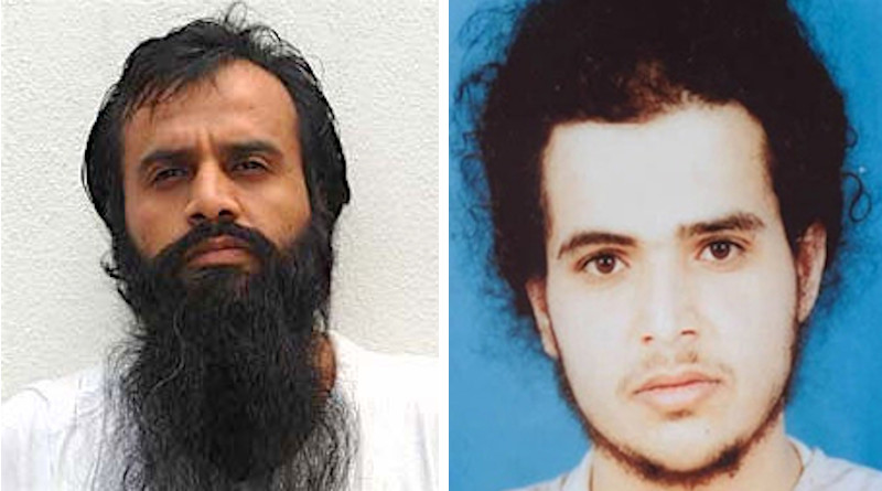 Now and before: More current photo of Guantanamo detainee Mohammed al-Qahtani and one from when he was detained (Wikipedia Commons)