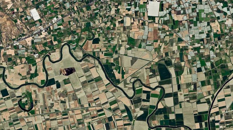 Field Maps Map Satellite Image Terry Turkey Aydin
