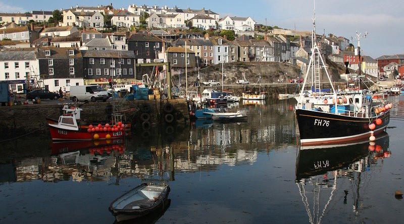 Fishing England United Kingdom Mevagissey Cornwall Maritime Nautical Holiday