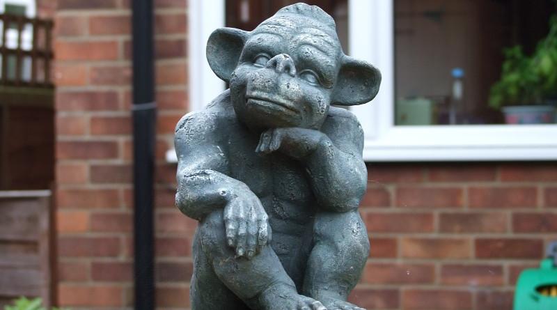 Goblin Statue Gnome Stone Decoration