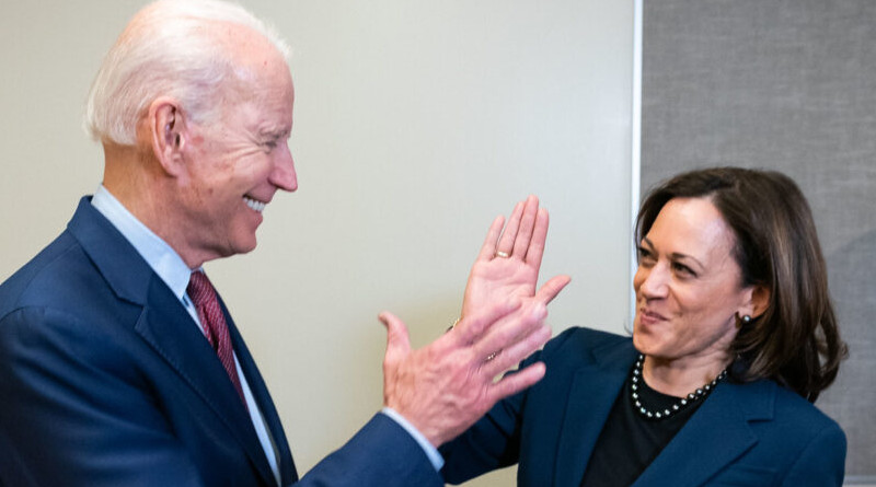 Joe Biden and Kamala Harris. Photo Credit: joebiden.com