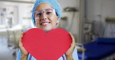 Nurse Heart Pulse Stethoscope Medical Health