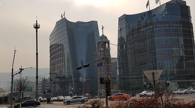The Presbyterian SaRang Community Church in Seoul, Korea. Photo Credit: 칼빈500, Wikipedia Commons