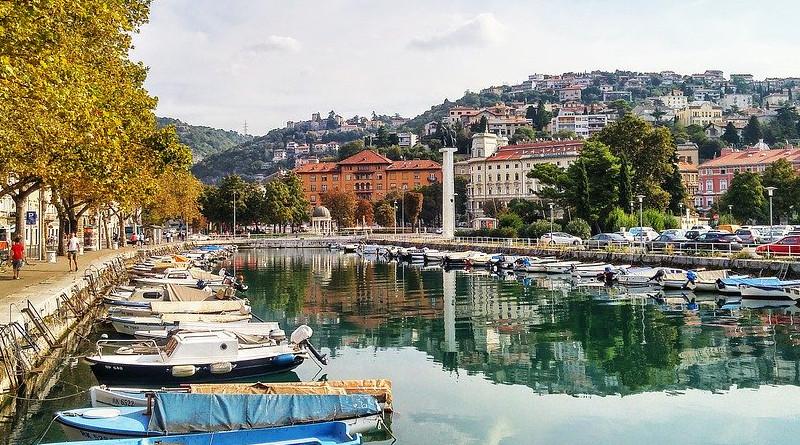 Rijeka Croatia Port City Landscape