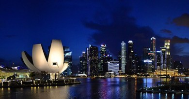 City Singapore Marina Bay Sands Architecture