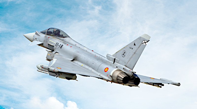 A Eurofighter plane. Photo Credit: Indra