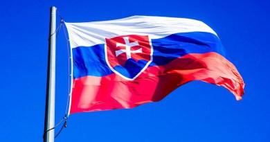 Slovakia Bratislava Flag Slovensko Press Castle