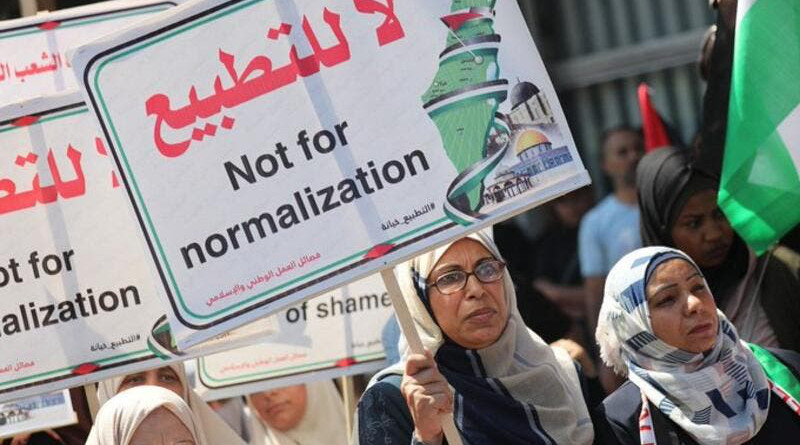 Anti-normalisation groups set up in UAE to counter Israel peace plan (Twitter)