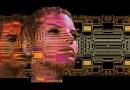 Deepfake deep fake artificial intellligence Board Digitization Face Technology Think Human