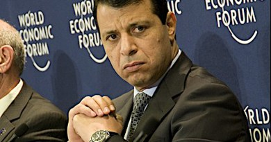 Palestine's Mohammed Dahlan. Photo Credit: WEF