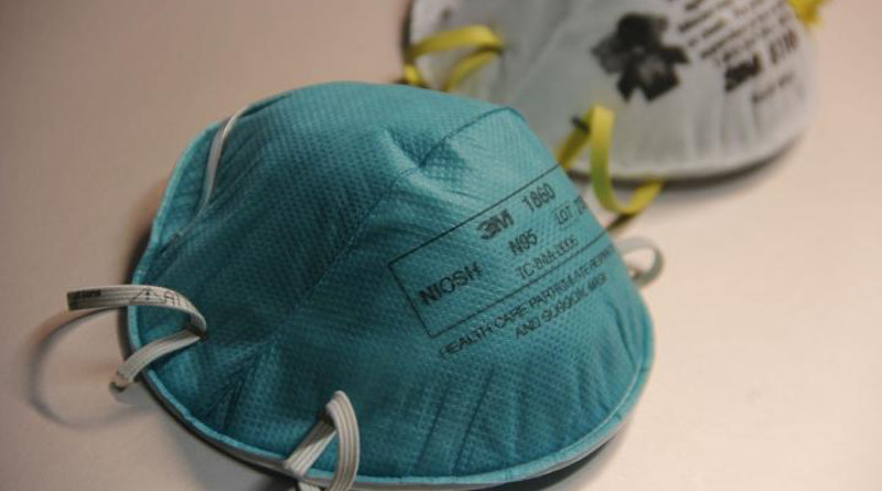 N95 respirators, which are widely worn by health care workers treating patients with COVID-19 and are designed to be used only once, can be decontaminated effectively and used up to three times, according to research by UCLA scientists and colleagues. CREDIT: CDC/Debora Cartagena