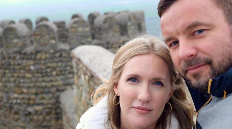 Undated photo of Heather and Vitali Shkliarov. Photo Credit: Heather Shkliarov, VOA