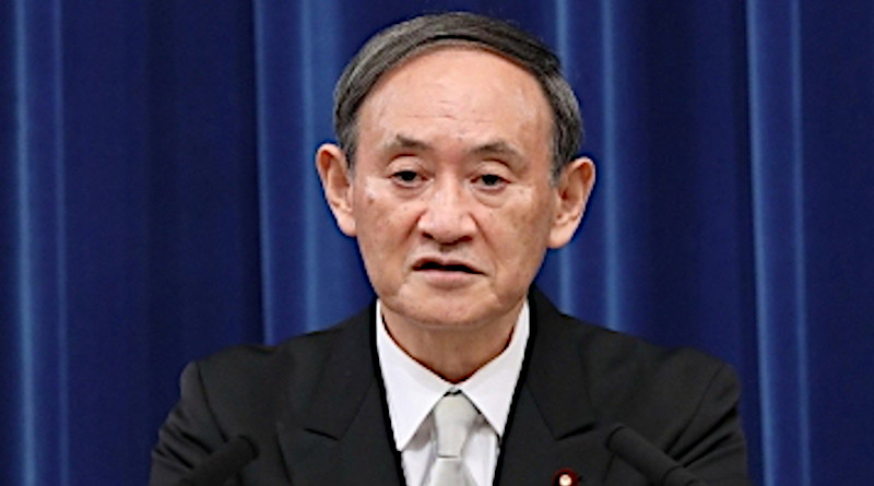 Japan's Prime Minister Yoshihide Suga. Photo Credit: Office of the Prime Minister of Japan