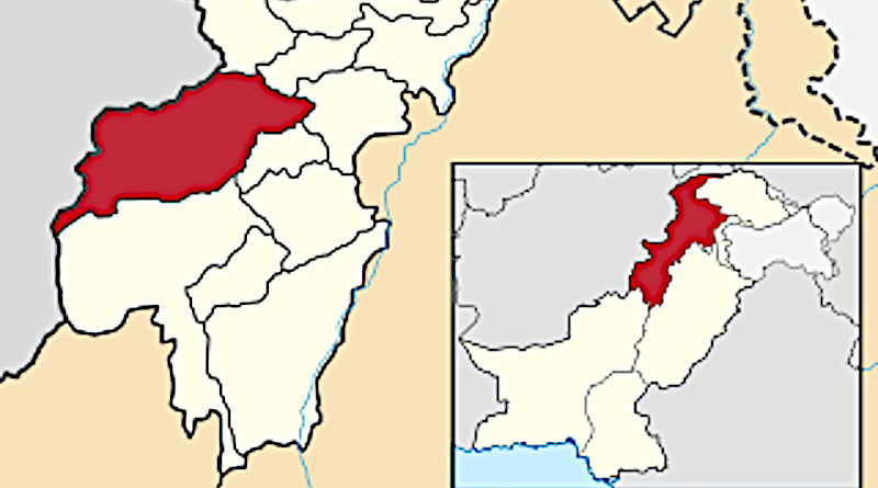Locator map of North Waziristan district in Khyber Pakhtunkhwa, Pakistan. Credit: Wikipedia Commons
