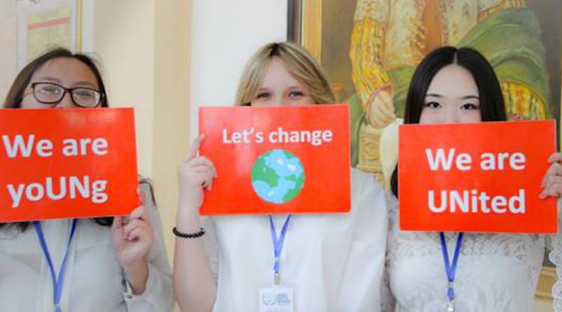 Photo: Model United Nations/Aruzhan Serikkyzy