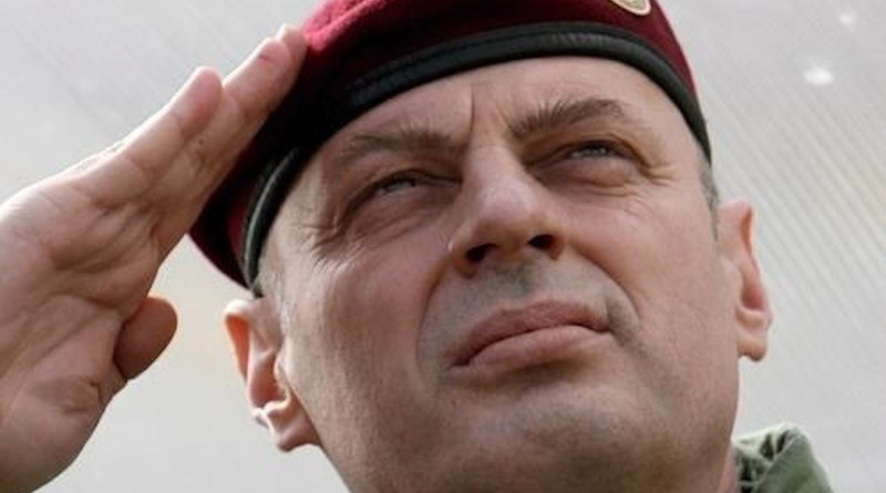 File photo of Agim Çeku, as Minister for the Kosovo Security Force