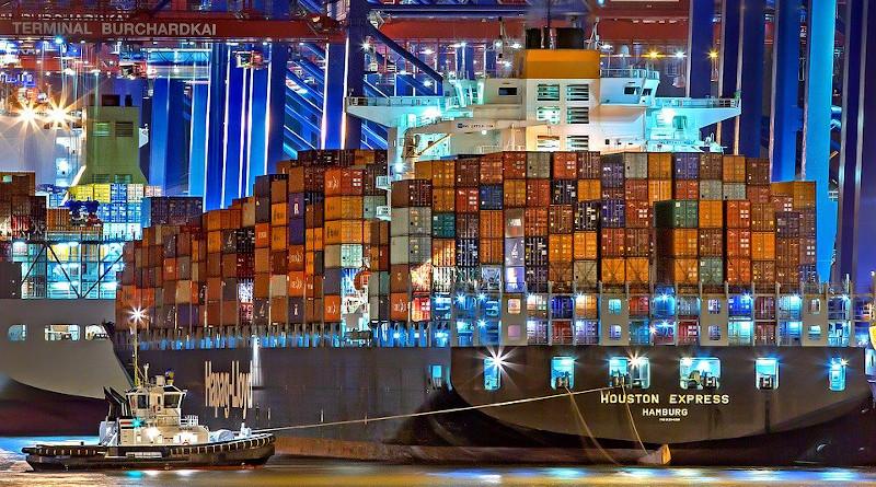 cargo trade export Hamburg Port Of Hamburg Container Ship Germany