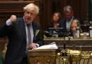 United Kingdom's Prime Minister Boris Johnson in Parliament. Photo Credit: UK Parliament Handout
