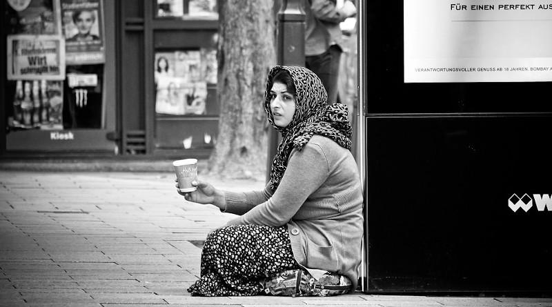 Woman Human Road Woman Eastern Europe Roma Person