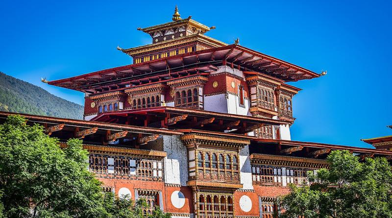 Palace Bhutan Architecture Country Buddhism