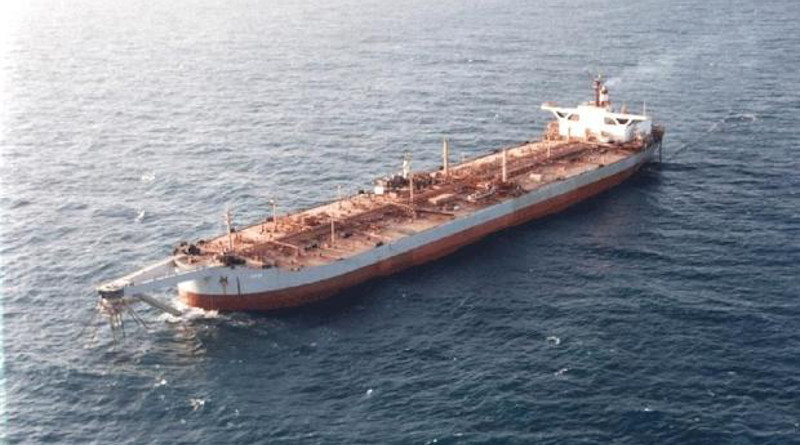 File photo of FSO Safer oil tanker anchored off the coast of Yemen. (Handout)