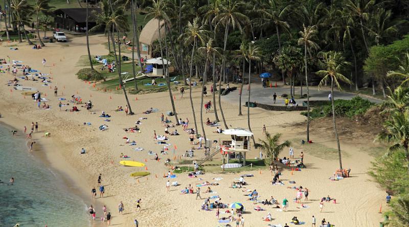 Hawaii Beach Relaxation Sea Ocean Island Vacation O'ahu
