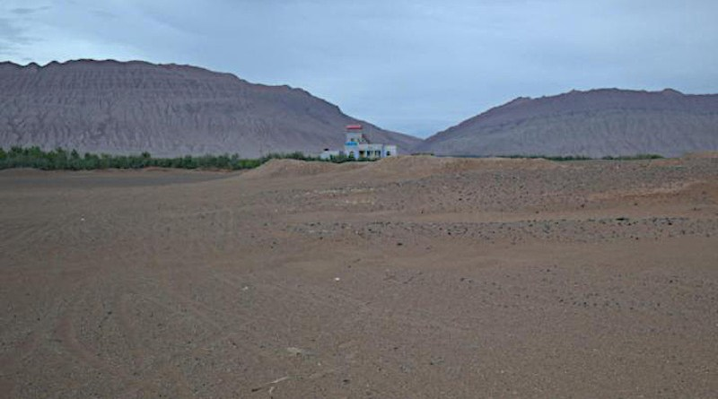 The area near the city of Turfan in northwest China. CREDIT: (Picture: UZH)