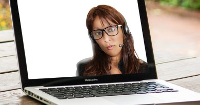 Mediation Online Woman Webinar Computer Cam Training Education Learn