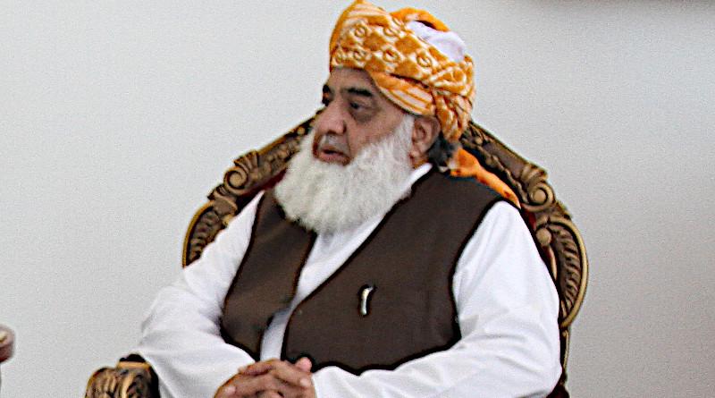 Pakistan's Maulana Fazlur Rehman. Photo Credit: Shehbaz Sharif, Wikipedia Commons