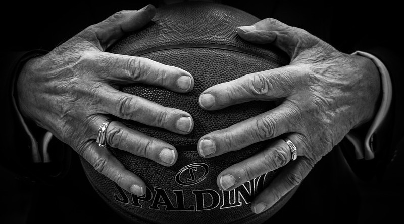 Ball Basketball Hands Rings Black Basketball