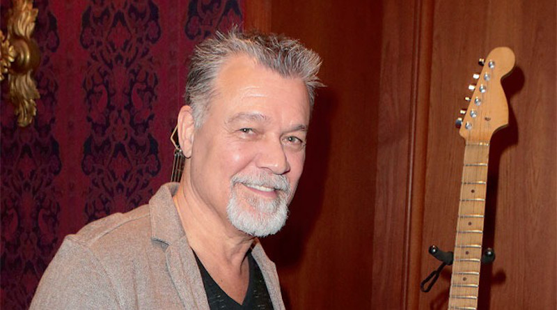 Eddie Van Halen in 2015. Photo Credit: Laurence Faure (Blogueuse), Wikipedia Commons