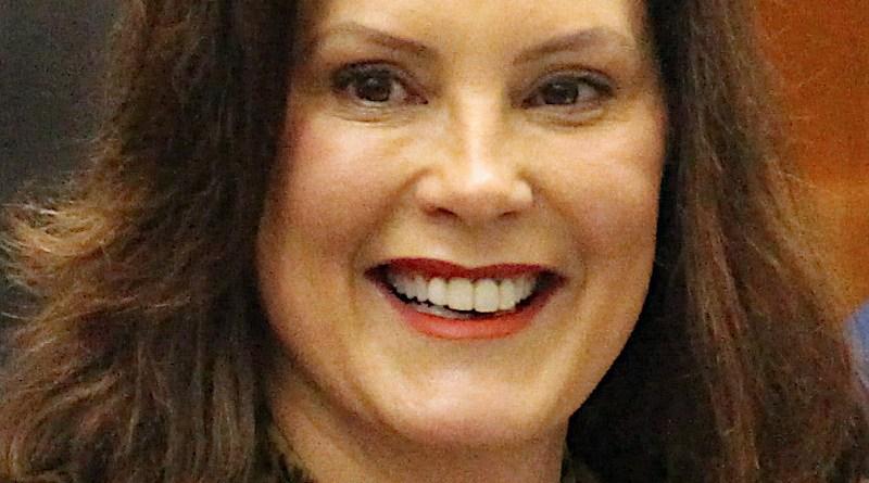Gretchen Whitmer, Governor Of Michigan. Photo Credit: Julia Pickett, Wikipedia Commons