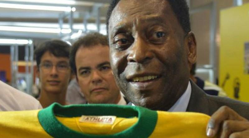File photo of Brazilian soccer star Pelé. Photo Credit: Valter Campanato, Agencia Brasil
