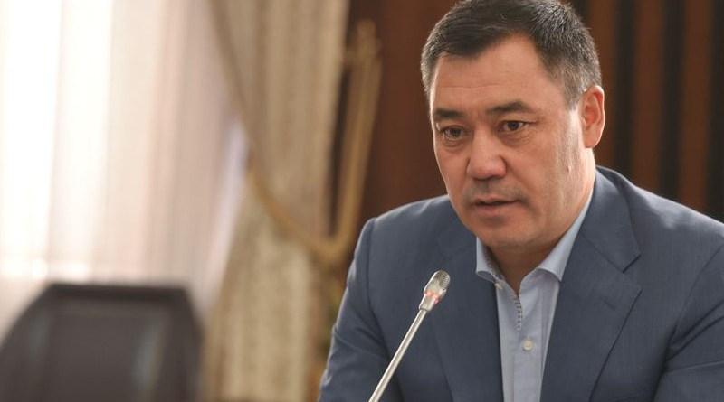 Kyrgyzstan's Prime Minister Sadyr Japarov. Photo Credit: Gov.kg