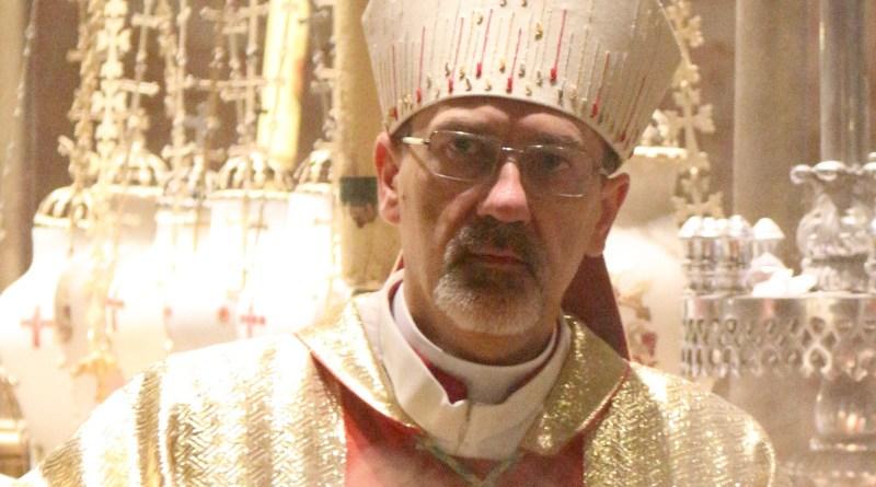 File photo of Archbishop Pierbattista Pizzaballa. Photo Credit: Giovanni Zennaro, Wikimedia Commons