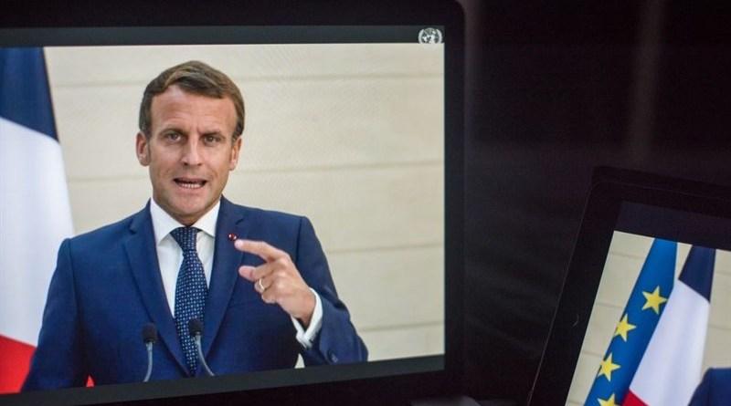 France's President Emmanuel Macron. Photo Credit: Tasnim News Agency
